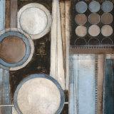 Blue Notes Square II Kunstdruck von Kimberly Poloson