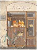 Cheese Shop Errand Affiche par Marco Fabiano