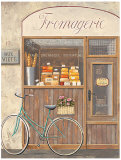 Cheese Shop Errand Print by Marco Fabiano