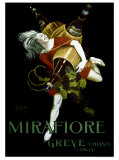 Mirafiore, Greve Chianti Gicléedruk van Leonetto Cappiello