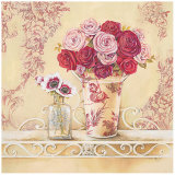 Chintz and Roses Poster by Stefania Ferri
