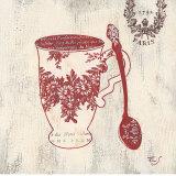 Paris Coffee Kunstdrucke von Stefania Ferri
