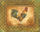 Country Rooster I Poster by Gregory Gorham