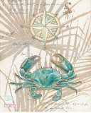 Directional Crab Prints by Chad Barrett