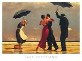 Jack Vettriano - The Singing Butler (Zpívající lokaj), Vettriano Obrazy