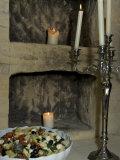 Chateau Neercanne Interior, Maastricht, Limburg, Netherlands Photographic Print by Lisa S. Engelbrecht