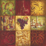 Tuscan Wine II Lminas por Gregory Gorham