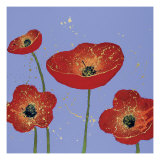 Sky Poppies 1 Giclee Print by Dominic Pangborn