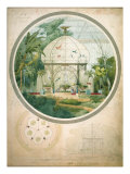 Aviary in a Wintergarden Giclee Print by Porter Design