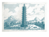 The Porcelain Tower Print by  Porter Design