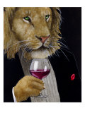 The Wine King Giclee Print by Will Bullas