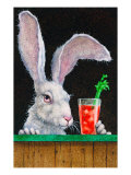 Hare of the Dog Giclee Print by Will Bullas