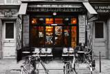Foto van café in Parijs: Café du Brésil  Affiches