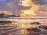 FIERY SKYE, SANDEND Collectable Print by ED HUNTER