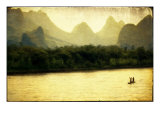 River Li Boatmen Giclee Print by Doug Landreth