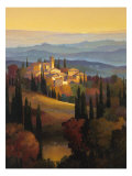 Hills of Chianti Gicle-tryk af Max Hayslette