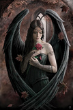 Angel Rose Reprodukcje autor Anne Stokes
