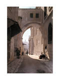 Ecce Homo Arch, a Sacred Religous Landmark, Located in Jerusalem Photographic Print by Hans Hildenbrand