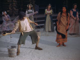 Actors Perform a Scene from a Play About the Lost Colony Photographic Print by Jack Fletcher