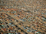 Shantytown on the Outskirts of Cape Town Photographic Print by Bobby Haas