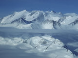 Mount Vinson Massif (16, 059') Antarctica's Highest Summit Photographic Print by Gordon Wiltsie