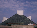 Rock and Roll Hall of Fame in Downtown Cleveland Photographic Print
