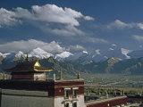 Sera Monastery Overlooks Lhasa before Mass Influx of Chinese Migrants Photographic Print by Gordon Wiltsie