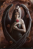 Angel Rose Posters by Anne Stokes