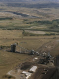 Huge Open Pit Coal Mine Near Decker, Montana Photographic Print by Gordon Wiltsie