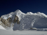 Unnamed, Glacier-Draped Mountain Looms Above Cappellari Glacier Photographic Print by Gordon Wiltsie