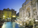 Trevi Fountain and Palazzo Poli Photographic Print by Richard Nowitz