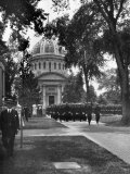 Midshipmen March from Sermon on the Grounds of the Naval Academy Photographic Print by Clifton R. Adams