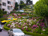 Famous Crooked Street known as Lombard Street in San Francisco Photographic Print by Stacy Gold