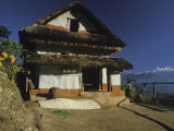Home in Eastern Nepal Photographic Print by David Edwards