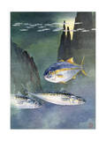 Variety of Fishes Native to the Waters of Western North America Photographic Print by Hashime Murayama