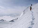 Mountaineers Climb First Ascent of Mount Vaughan, Close to South Pole Photographic Print by Gordon Wiltsie
