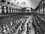 Midshipmen at the Naval Academy Endure a Five-Hour Long Exam Photographic Print by Clifton R. Adams