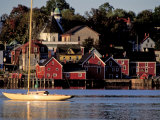 Lunenburg Harbor, an Old German Fishing Village in Nova Scotia Photographic Print by Richard Nowitz