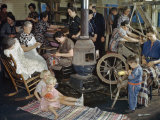 Weaving and Home Crafts are Kept Alive in Weekly Sewing Sessions Photographic Print by Volkmar K. Wentzel