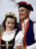 Polish American Onion Farmers Wear Traditional Polish Clothes Photographic Print by Volkmar K. Wentzel