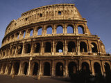 Outside of the Collosseum, Rome, Italy Photographic Print by Paul Chesley
