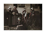 Students Train to Be Teachers of Gymnastics at a Women's School Photographic Print by Gustav Heurlin