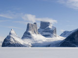 Broad Peak at Sam Ford Fiord and Walker Arm, on Baffin Island Photographic Print by John Dunn