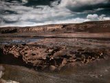Ruins of a Prehistoric Indian Village, Pueblo Bonito, Belies its Name Photographic Print by Edwin L. Wisherd