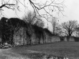 Old Wall of Fort Frederick Stands Strong More Than 100 Years Later Photographic Print by Clifton R. Adams