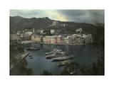 View of Portofino's Harbor Photographic Print by Hans Hildenbrand