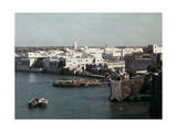 Scenic View of the Bou Regreg River with Rabat in the Background, Photographic Print