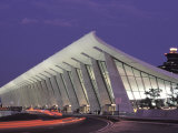 View of Dulles Airport in Virginia Photographic Print by Richard Nowitz