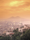 Naples and Mount Vesuvius Photographic Print by Richard Nowitz