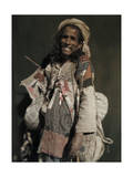 Indian Beggar Smiles at Life Although Clad in Rags Photographic Print by Franklin Price Knott